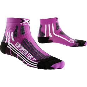 X-Socks Run Speed Two Löparstrumpor Dam violett